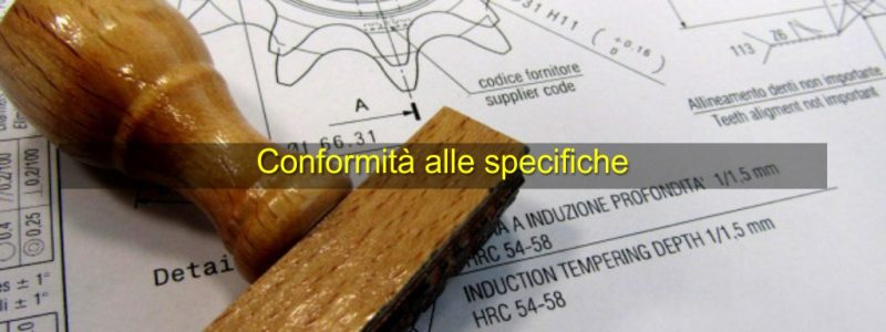 conformit-alle-specifiche