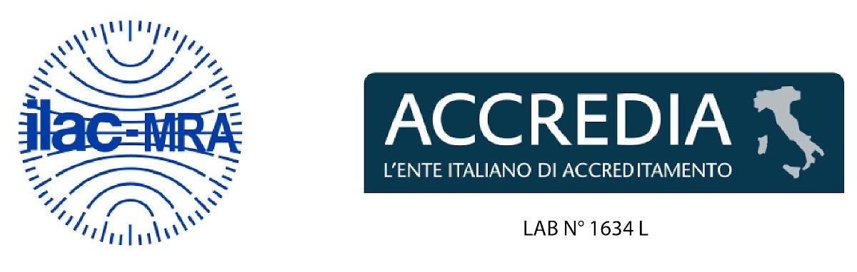 ILAC-ACCREDIA-LAB N° 1634 L-01